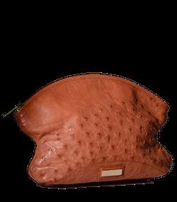 Bolso piel avestruz
