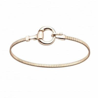 pulsera-estribo-plata-oro rosa