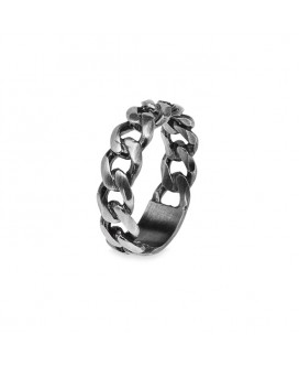 anillo cadena hombre