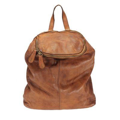 Bolso mochila para mujer piel lavada