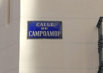 calle campoamor, Madrid