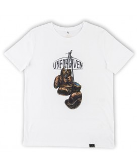 camiseta hombre guantes boxeo