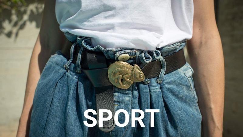 Cinturones mujer sport