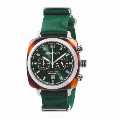 Reloj Clubmaster Briston verde