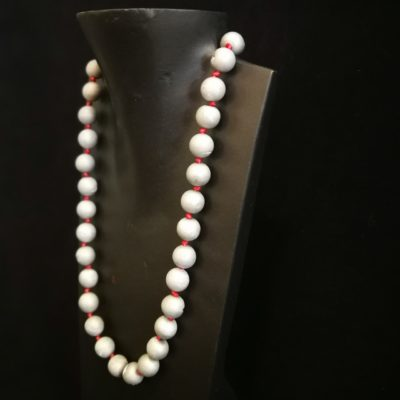 Collar Agata Gris y plata
