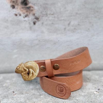 Cinturon hebilla camaleón