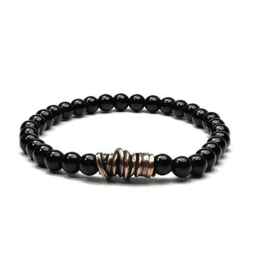 pulsera-hombre-mujer-onix-bronce