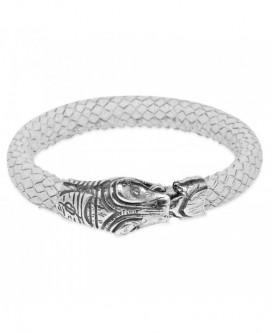pulsera serpiente de Plata